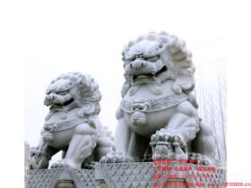 不同位置的石狮子分别有什么作用