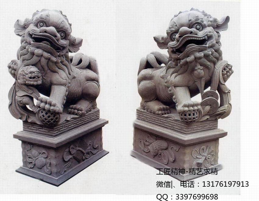 南方石雕狮子