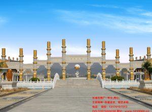 寺院石牌坊