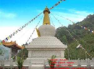 我国现存最大的藏式佛塔_北京妙应寺白塔